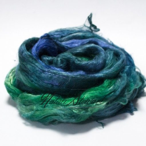 56 gr Hand Dyed A Grade Mulberry Silk Brick / Top