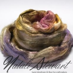 65 gr Hand Dyed A Grade Mulberry Silk Brick / Top