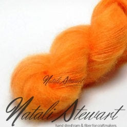 50 gr / 420 m Kid Mohair / Silk yarn