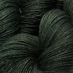 "120 gr / 480 m Superwash Merino / Silk / Yak Yarn - Solid Color ""Khaki """