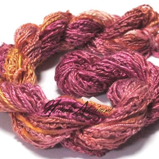 silk texture selection threads berry