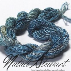 silk texture selection threads blue 30
