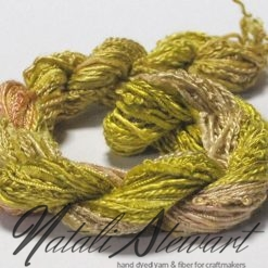 silk texture selection threads lime 34