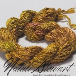silk texture selection threads olive un35