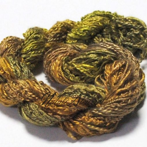 silk texture selection threads olive3