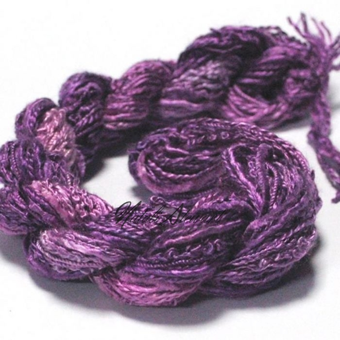 silk texture selection threads violet 39