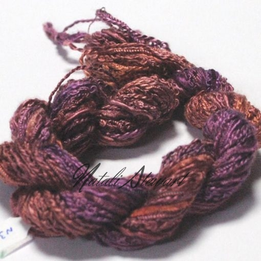 silk texture selection threads violet