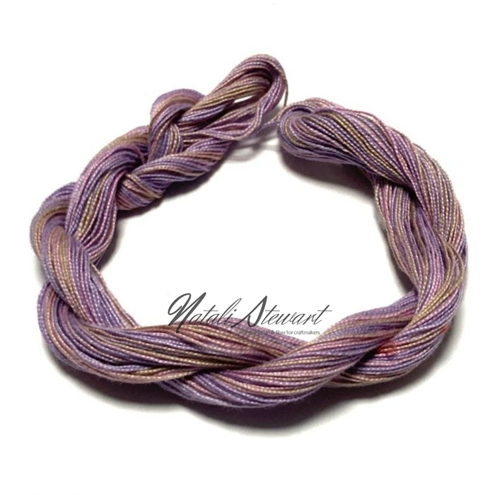Hand dyed Embroidery Mercerised Cotton threads 40 meters single skein MC13