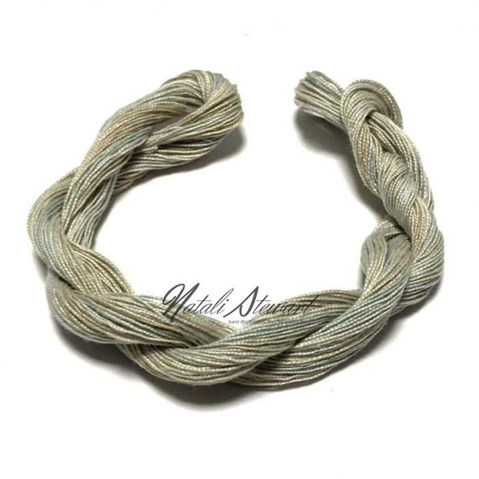 Hand dyed Embroidery Mercerised Cotton threads 40 meters single skein MC16