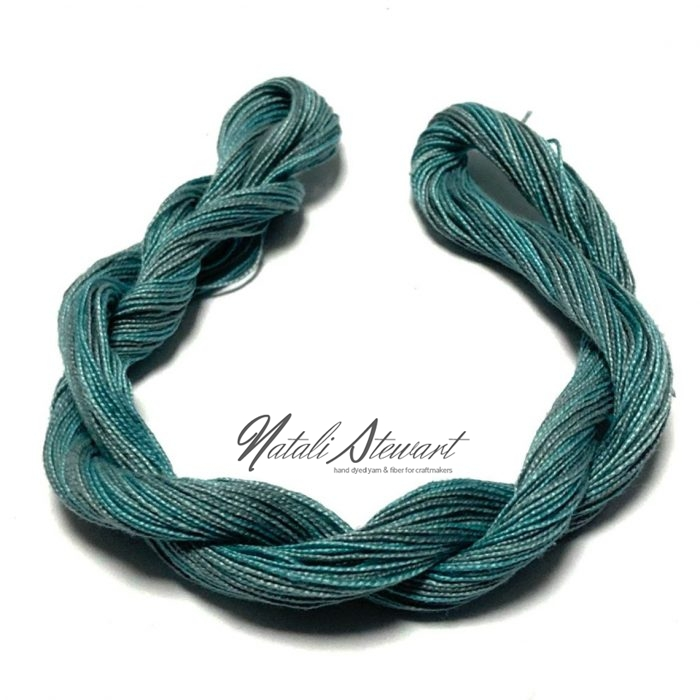 Hand dyed Embroidery Mercerised Cotton threads 40 meters single skein MC2