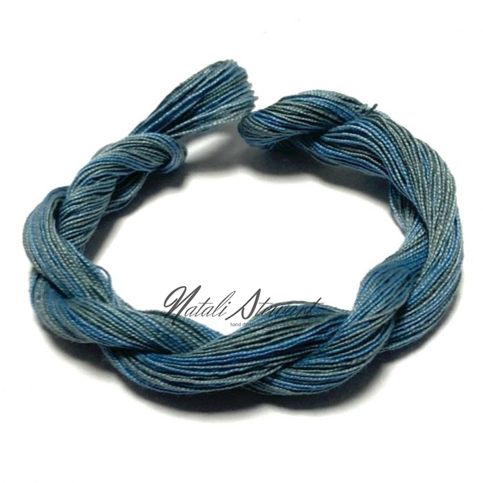 Hand dyed Embroidery Mercerised Cotton threads 40 meters single skein MC4