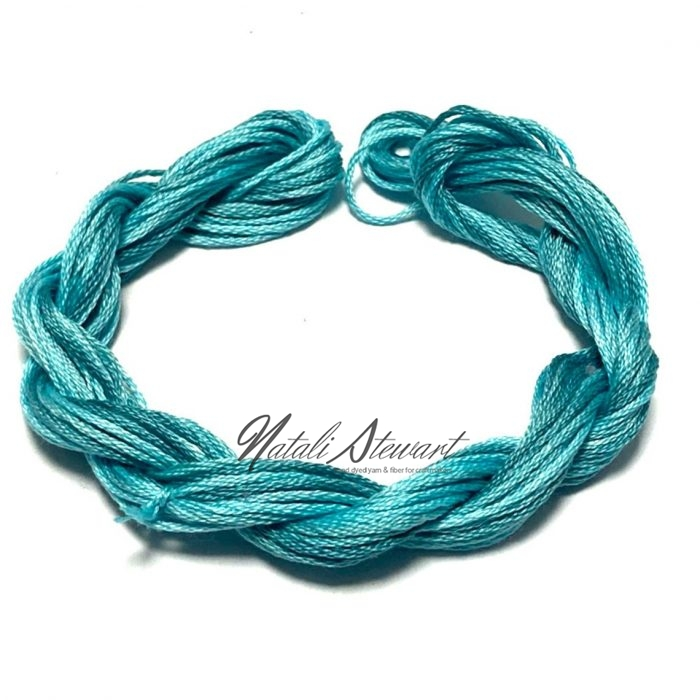 Hand dyed cotton embroidery floss moulinè cotton stranded cotton floss embroidery thread 10 meters single skein SC1