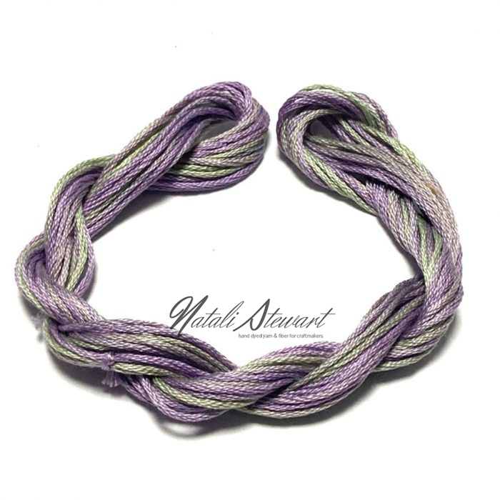 Hand dyed cotton embroidery floss moulinè cotton stranded cotton floss embroidery thread 10 meters single skein SC7
